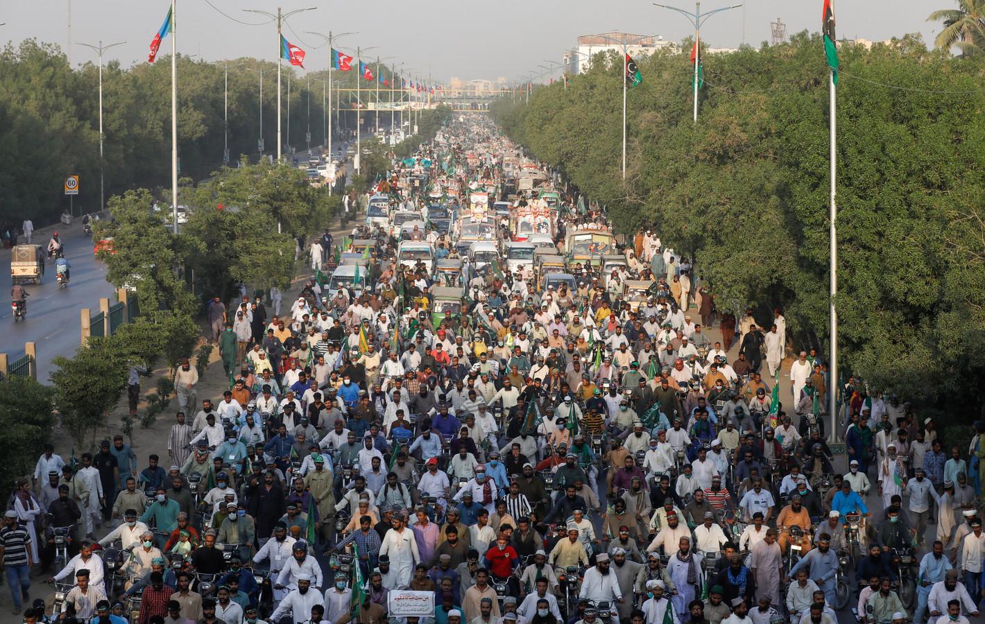 Karachi, Pakistan, 7 novembre