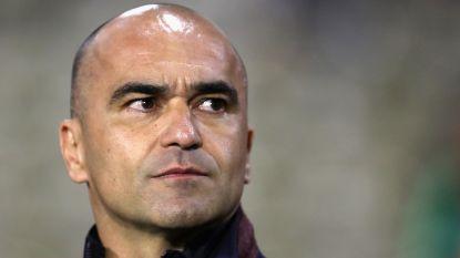 """Roberto Martínez: """"Heb 90% van selectie voor WK in Rusland in mijn hoofd"""""""