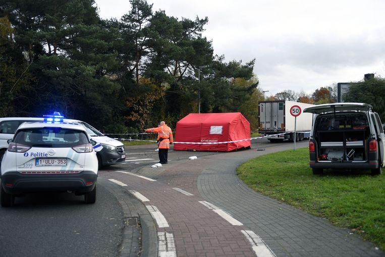 Agenten van de politiezone BRT (Begijnendijk-Rotselaar-Tremelo) kwamen ter plaatse voor de eerste vaststellingen.