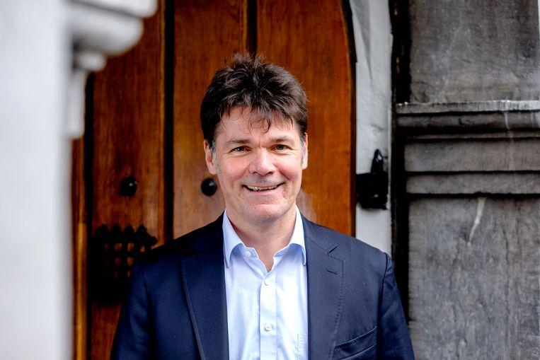 Paul Depla, burgemeester van Breda en voorzitter van de G40. Beeld ANP