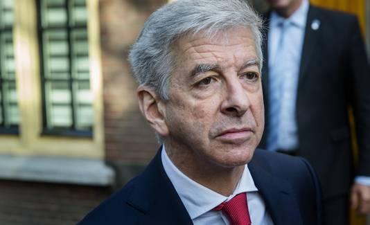 Ronald Plasterk, nu minister van Binnenlandse Zaken.