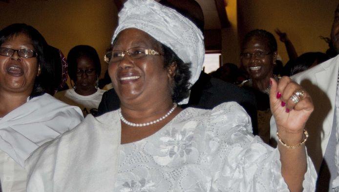 President Joyce Banda van Malawi.