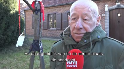 """Bewoner van huis met nazisymbolen in Keerbergen: """"Ik geniet van de aandacht"""""""