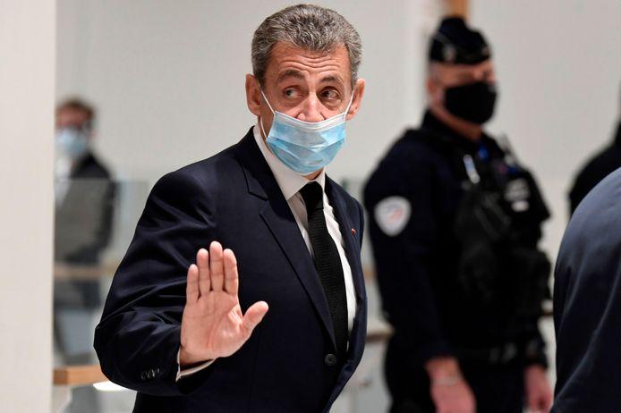 De Franse oud-president Nicolas Sarkozy.