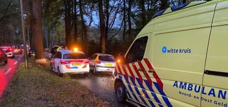 Drie ongelukken met acht voertuigen zorgen voor file tussen Zutphen en Gorssel