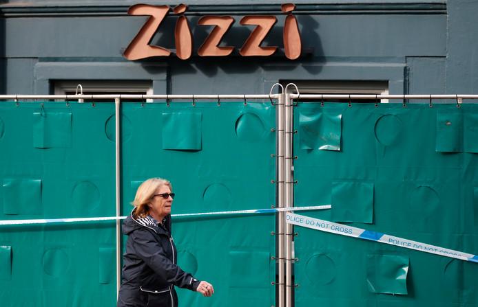 Restaurant Zizi in Salisbury is afgesloten sinds de gasaanval op de Russische oud-spion Sergei Skripal. De Rus en zijn dochter hebben er gegeten voordat zij bewusteloos op een bankje in de buurt werden aangetroffen.