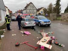 Automobilist rijdt bewust in op carnavalsstoet Duitsland: 30 gewonden, zeven ernstig, ook kinderen'