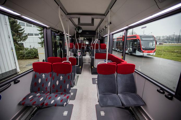 Elektrische bussen van VDL voor Hermes die onder de naam Bravo op de weg zijn te vinden.