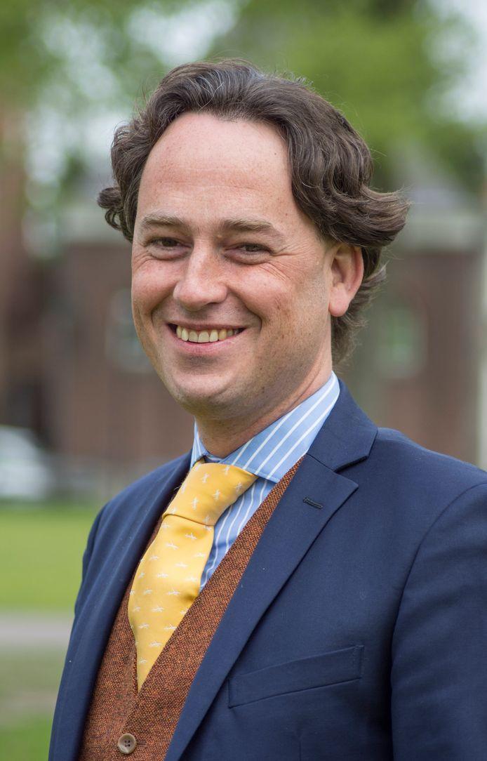 Bernd Roks  (43) wordt de nieuwe burgemeester van Halderberge.