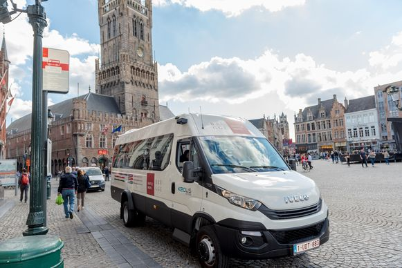 Brugge, gratis shuttlebus