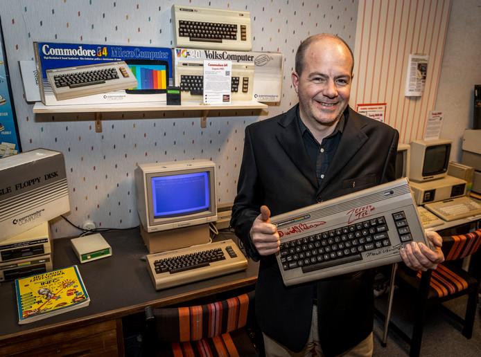 Jeroen Tel uit Helmond maakte muziek voor spellen op de Commodore 64, Sega en Nintendo.