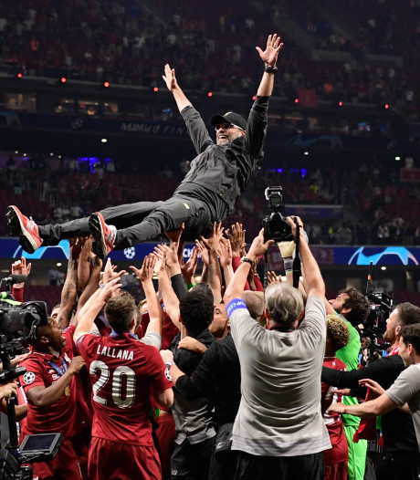 Fotoserie | Liverpool viert groot feest na Champions League-winst