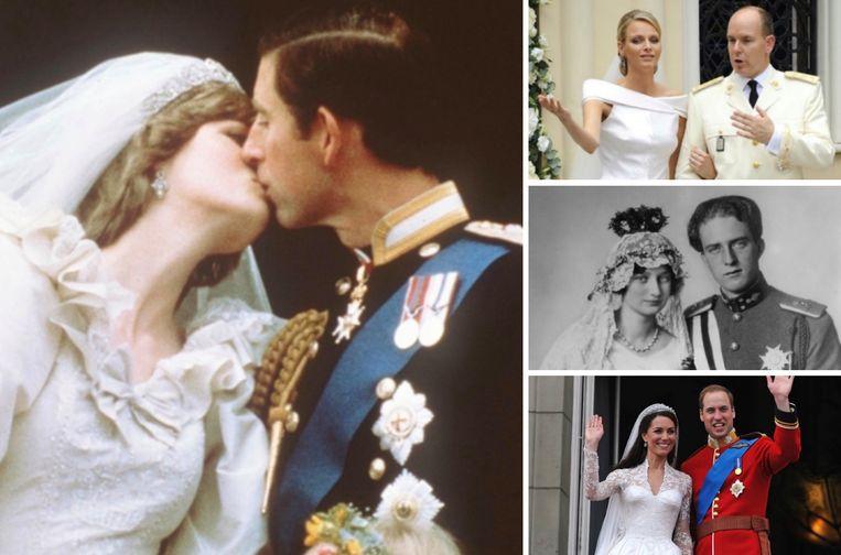 Meest spraakmakende koninklijke huwelijken