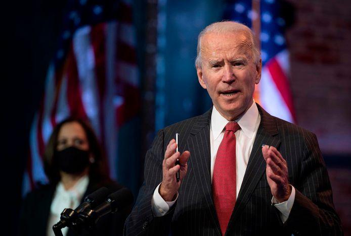Joe Biden, le président élu des Etats-Unis.