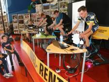 Gorcumse leerlingen fietsen 3000 euro bij elkaar voor kankeronderzoek