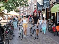 Wel fietsen of niet fietsen? Aan de Utrechtse Vismarkt snakt iedereen naar duidelijkheid