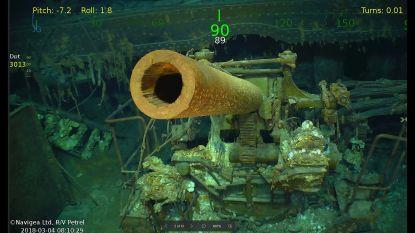 Wrak van Amerikaans vliegdekschip uit WO II na 76 jaar gevonden