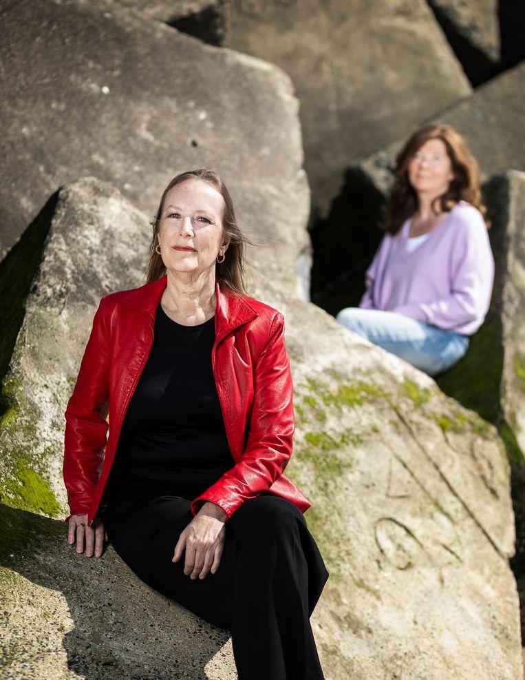 Renate van der Zee (links) en Justine le Clercq (rechts). Beeld null