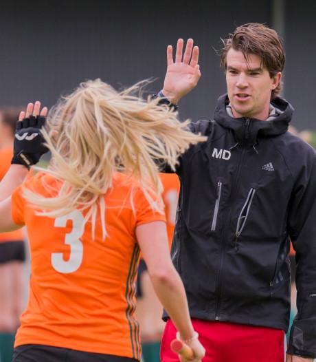 Twintigers aan de macht op de Brabantse hockeybank: 'Als jonge coach sta je dichter bij de groep'