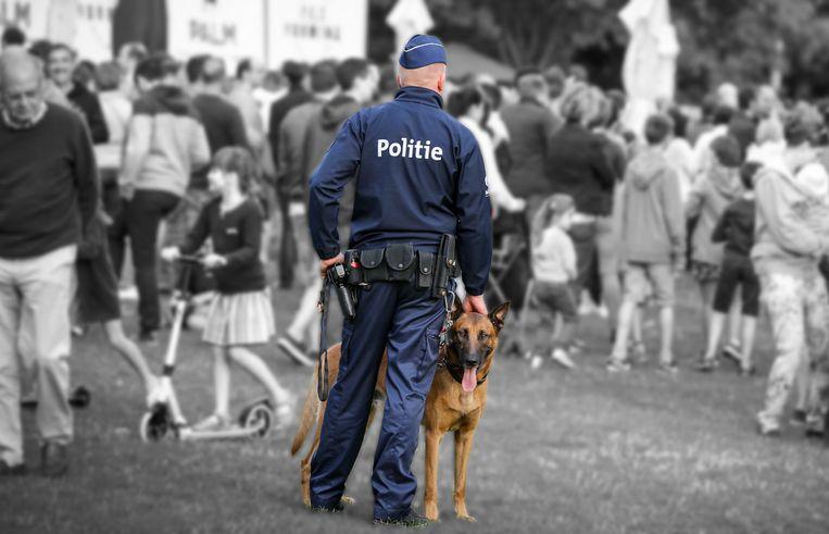 De politie van Middelkerke meldt het overlijden van haar trouwe en mooie diensthond Flynn