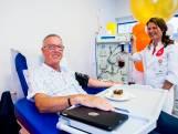 Record: Floris (68) doneert plasma voor de 600ste keer