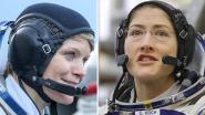 Vrouwelijk duo maakt voor het eerst in geschiedenis samen ruimtewandeling