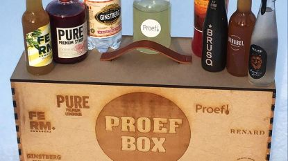 18 alternatieven voor alcohol in Proefbox Tournée Minérale