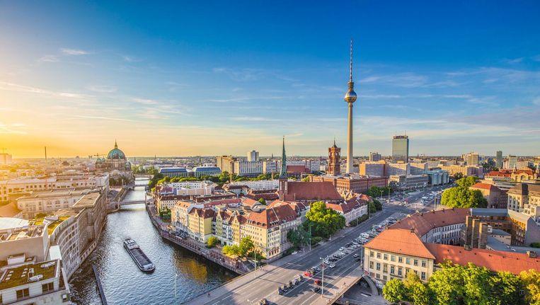 Aanzicht van Berlijn Beeld null