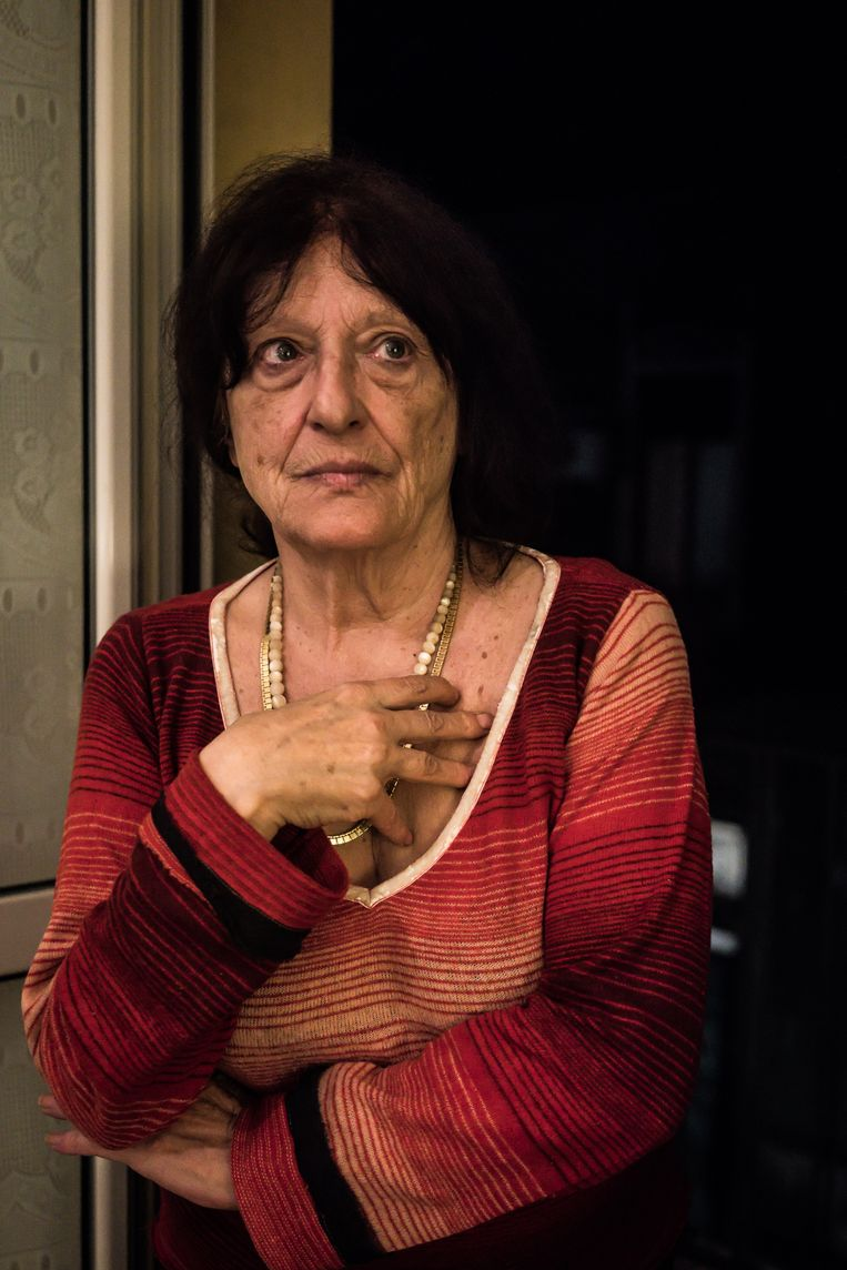 Nellina Laganà, de activist. Beeld Nicola Zolin