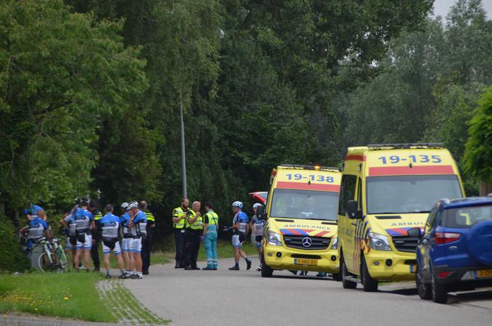De fietser overleed aan zijn verwondingen.