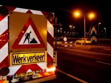 A1 gaat vijf nachten dicht tussen Barneveld en Hoevelaken: Verkeer richting Apeldoorn omgeleid