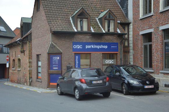 De parkingshop van OPC in Ninove.