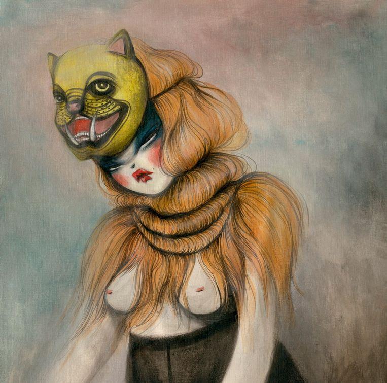 Een voorbeeld van een werk van Miss Van.