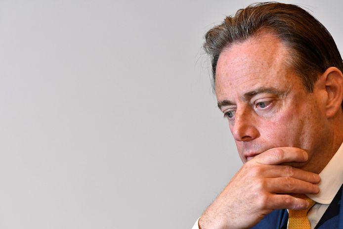 Bart de Wever, lors de la conférence de presse autour de sortie de son livre, le 3 mai.