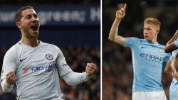 Belgen boven: 2 goals voor Hazard, een voor De Bruyne en Lukaku, Kompany keert succesvol terug
