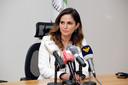 Minister van Informatie Manal Abdel Samad.