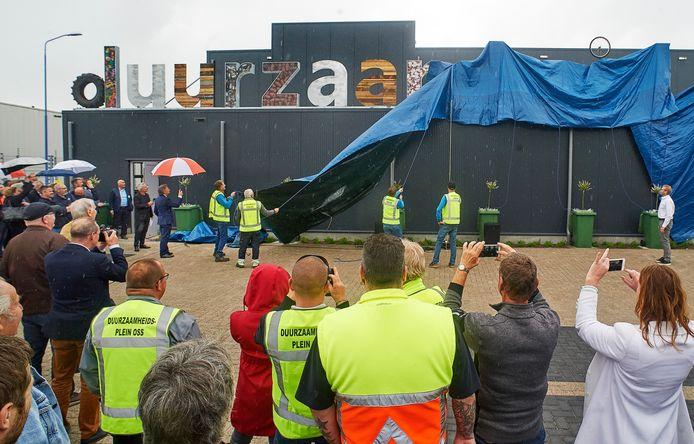 Onthulling/opening Nieuwe Duurzaamheidsplein Oss. Fotograaf: Van Assendelft/Jeroen Appels
