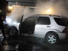 Bewoners opgeschrikt door autobrand in Putten