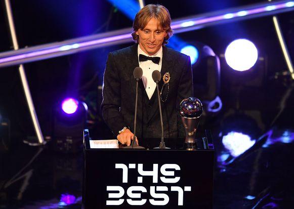 Eind september werd Modric nog verkozen tot de beste speler van het afgelopen jaar, wereldwijd.