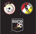 De drie logo's van EGS'20.