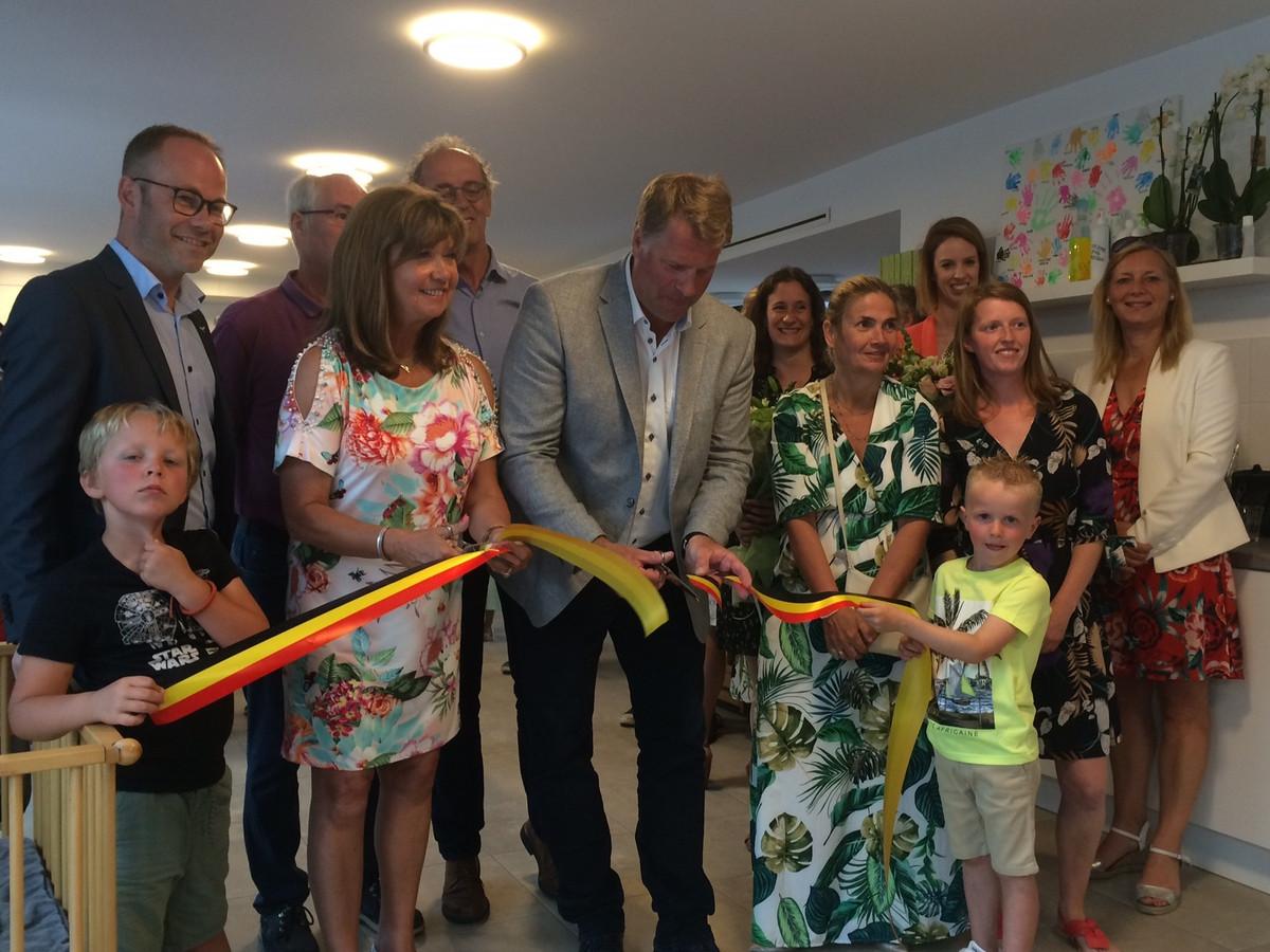 De gemeente opende een nieuw kinderopvanginitiatief in Adinkerke