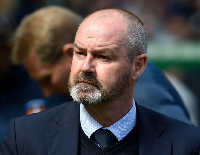 Steve Clarke, nieuwe bondscoach van de Schotse voetbalbond