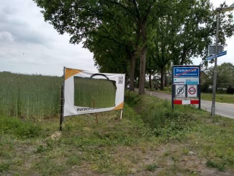 Protestspandoek vernield in Dommelen, discussie om Eurocircuit verhardt