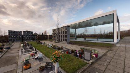 Begraafplaatsen Heist-Station en Zonderschot krijgen luifel