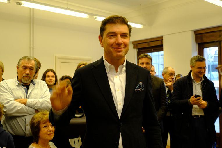 Burgemeester Boom Jeroen Baert N-VA