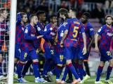 Wonderlijke vrije trappen Messi helpen Barça aan kop