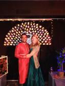 Siddharth Shekhar en zijn vrouw Dorien in The Hub.