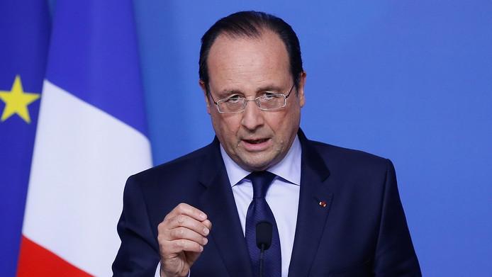 François Hollande à Bruxelles le 27 mai.