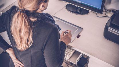 Vijf tips voor een goede computerhouding