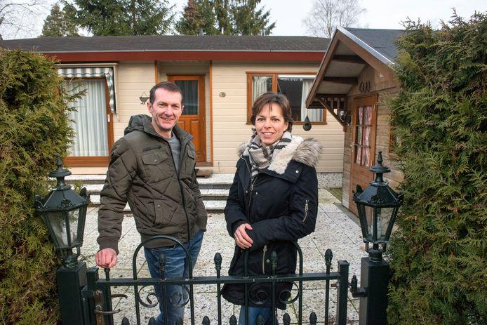 Erik en Daniëlle Geurtsen van 't Ravenest zijn trots op hun 'keurige' vakantiepark. ,,Maar dat gaat niet vanzelf.''
